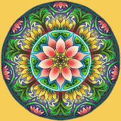 Uplift the ambiance of your home with the Mandala collection of paintings. Buy the Mandala collection of painting kits if you love colorful and hypnotic artwork. Mandala Art, Lotus Mandala, Mandala Design, Mandalas Painting, Mandalas Drawing, 5d Diamond Painting, Cross Paintings, Mandala Coloring, Fractal Art