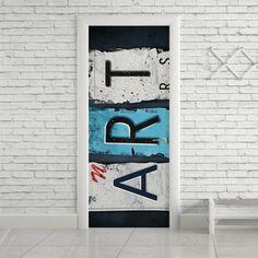 Adesivo de porta art - StickDecor | Decoração Criativa