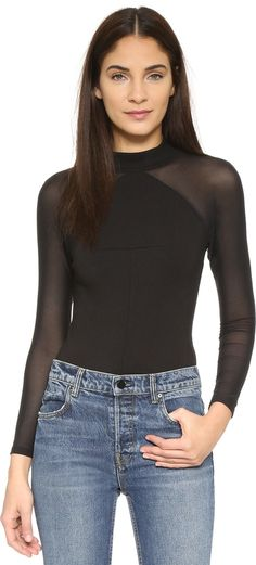 KENDALL + KYLIE Long Sleeve Bodysuit