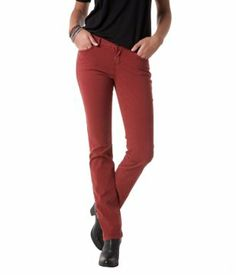 Straight-leg canvas trousers