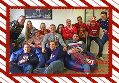 That's how we rock in style! Christmas Jumper Day, We Rock, Stunts, Frame, Home Decor, Style, Picture Frame, Swag, Decoration Home