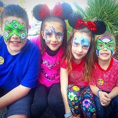 Instagram photo by shaycarl - At Disney World gettin our faces did! #DisneySide