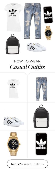 """Adidas Casual Wear"" by pacilor on Polyvore"