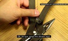 Como arreglar una cremallera estropeada
