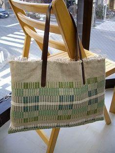 Atelier Woven Sweden: image of BAG of linen