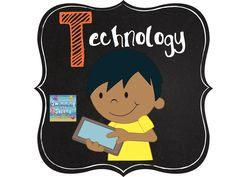T is for Technology (ABCs of 2nd grade)