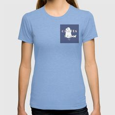 Paper Bird on Blue Crafts Star T-shirt