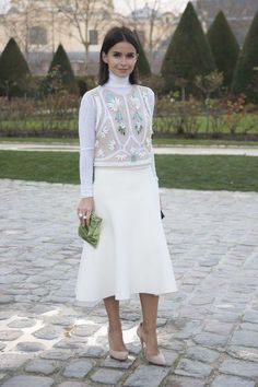 Street style star Miroslava Duma shows you exactly how to wear a turtleneck this fall (the key is in the layering)