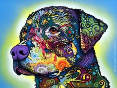 """""""The Rottweiler"""" by Dean Russo"""