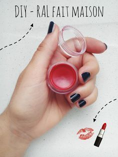 Un rouge à lèvres fait maison simple à réaliser ! ❁