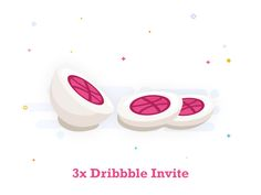 3 Dribbble Invite by Anwar Hossain Rubel #Design Popular #Dribbble #shots