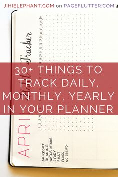 30+ Super Trackers For Your Planner: Daily, Monthly, Yearly | Christmas Shopping | Jihi Elephant for pageflutter.com
