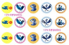 Freebies: FREE RIO bottlecap images for hairbows
