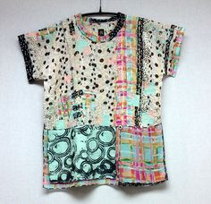 Try the Eureka Top patchwork style   SFWG :: Modern Artisanal Style Since 1976 - What's New