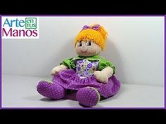 Detailed step by step rag doll Doll Videos, Beagle, Crochet, Art Dolls, Doll Clothes, Dinosaur Stuffed Animal, Projects To Try, Teddy Bear, Toys