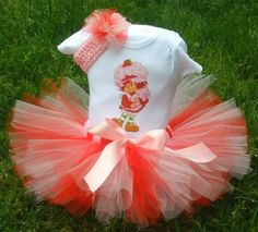Custom Strawberry Shortcake Birthday Tutu
