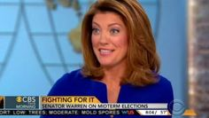 "Midterm Softball: Please Explain Why Republicans Suck Co-host Norah O'Donnell: ""You serve in the U.S. Senate. Democrats are in control. The Republicans need six seats. On average, since World War II t"