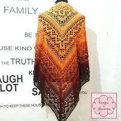 Crochet Klaziena Shawl