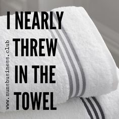 How many times have you nearly thrown in the towel? I've been close about 3 times throughout my business journey. My lowest point was when I started looking for an employed job - I felt like a complete failure and my heart was broken at the prospect of giving up on my dreams. It was a turning point. I woke up the next day with a renewed determination that I wouldn't give up no matter what obstacles were in my way no matter how hard life is no matter how much I struggled. I knew this because…