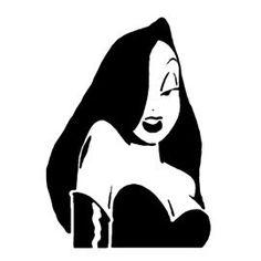 Tatuagem Jessica Rabbit, Jessica Rabbit Tattoo, Vintage Cartoon, Cartoon Art, Tattoo Drawings, Art Drawings, Dibujos Pin Up, Rabbit Drawing, Unique Drawings