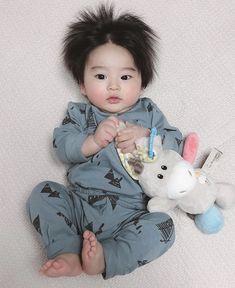 Cute Asian Babies, Cute Funny Babies, Korean Babies, Asian Kids, Cute Kids, Cute Little Baby, Little Babies, Baby Kids, Baby Boy