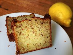 Lemon & Hazelnut Moist Cake