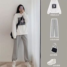Korean Girl Fashion, Korean Fashion Trends, Ulzzang Fashion, Korean Street Fashion, Kpop Fashion Outfits, Korea Fashion, Mode Outfits, Look Fashion, Modest Fashion