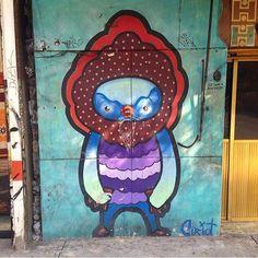 Artist: Curiot?  Location: Mexicali Mexico  Photo: repost - check out @en.el.ombligo.de.la.luna for more amazing urban art!  ℹ More info at StreetArtRat.com  #travel #streetart #street #streetphotography #tflers #sprayart #urban #urbanart #urbanwalls #wall #wallporn #graffitiigers #stencilart #art #graffiti #instagraffiti #instagood #artwork #mural #graffitiporn #photooftheday #streetartistry #pasteup #instagraff #instagrafite #streetarteverywhere #mexico #repost