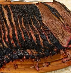 World Famous Smoked Brisket Recipe FlunkingFamily com is part of food-recipes - This is it! The World's Greatest Smoked Brisket Recipe Ever ~ Another Texas Ranch Recipe Brought To You By www FlunkingFamily com Beef Brisket Recipes, Bbq Brisket, Smoked Beef Brisket, Traeger Recipes, Smoked Meat Recipes, Grilling Recipes, Pork Recipes, Texas Brisket, Gastronomia