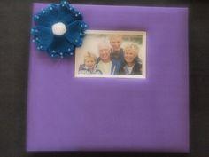 Scrapbook Album Purple Teal Blue 70 custom jasmine colors available by ArtisanFeltStudio on Etsy, $34.00