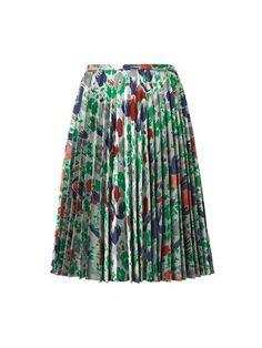 Pleated jacquard-twill skirt | J.W. Anderson | MATCHESFASHION.COM
