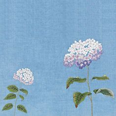 "120 Likes, 7 Comments - 꿈소 embroidery (@ggoomso) on Instagram: ""#야생화자수 #수국 #꿈소 #꿈을짓는바느질공작소 #embroidery #hydrangea"""