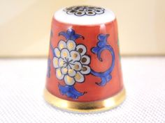Herend Red Dynasty GÖDÖLLŐ Thimble | eBay.com