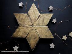 gwiazda z rombów z palety Diy, Bricolage, Do It Yourself, Homemade, Diys, Crafting
