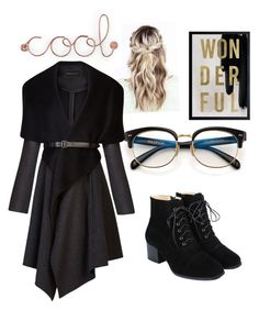"""""""Dark side!!"""" by iqrafatima ❤ liked on Polyvore featuring Oliver Gal Artist Co., Umbra and BCBGMAXAZRIA"""