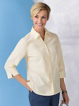 Seersucker Shirt | Women's Woven Top | Appleseeds