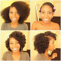 By @nvmam ・・・ Happy Sunday! Vid Tutorial will be up by the end of today :) but for now, enjoy this pictorial ☺️ #healthy_hair_journey #kinkychicks #protectivestyles #berrycurly #amazingnaturalhair #nhdaily