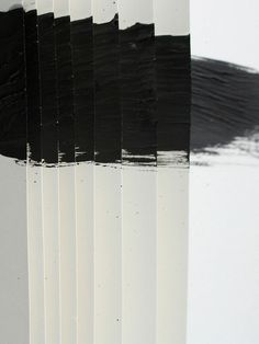 Art painting by Yano Mano, B&W Art Blanc, White Art, Black And White, Monochrom, Oeuvre D'art, Graphic, Installation Art, Textures Patterns, Painting & Drawing