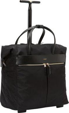 KNOMO London Sedley Rolling Laptop Bag Black - via eBags.com!