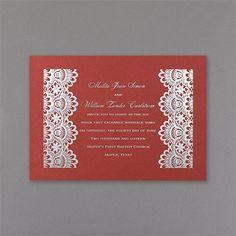 Burano - Invitation - Claret Shimmer