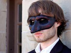 Hecho a la medida - largo punta de máscara de la mascarada