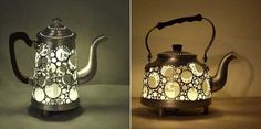 12 Inspiring DIY Home Decorations Recycling Old Tableware and Turning Clutter into Treasure