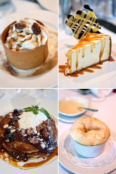 Desserts Commander's Palace | New Orleans Brunch | FamilyFreshCooking.com