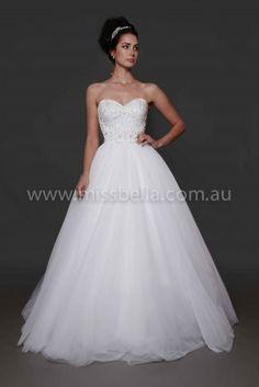 Cheap Wedding Dresses Melbourne beaded wedding dress beaded bodice tulle skirt sweetheart neckline deb dress melbourne