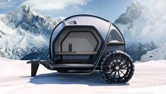 BMW and The North Face team up on cutting edge teardrop tent trailerYou can find Tent trailers and more on our website.BMW and The North Face . The North Face, Lightweight Campers, Bmw Design, E Motor, Bmw S, Camping Lights, Camping Outdoors, Teardrop Trailer, Teardrop Campers