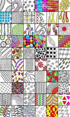 Doodle Directory Listing for all 6 Sets. por DrawDoodleDecorate
