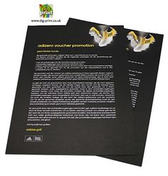 Digprint - Leaflets and flyers