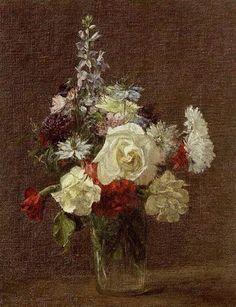 Mixed Flowers - Henri Fantin-Latour.wikiart.org