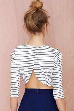 Tiger Mist Elle Knit Crop Top | Shop Tops at Nasty Gal