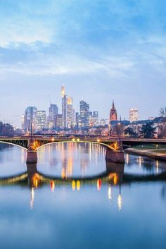 Frankfurt am Main. ♥ ♥ ♥ We love Germany. Germany loves the drinking bottle made of glass by EPiCO BOTTLES. Wonderful Places, Great Places, Beautiful Places, Places To Travel, Places To Visit, Frankfurt Germany, Germany Travel, Day Trips, Beautiful World